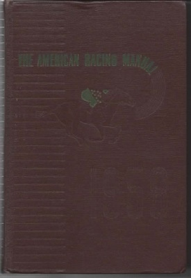 Image for The American Racing Manual 1958 Edition