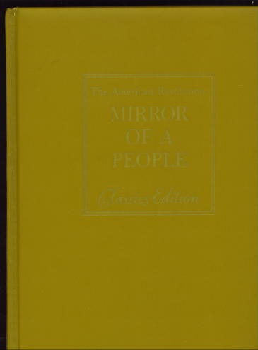 Image for The American Revolution: Mirror Of A People