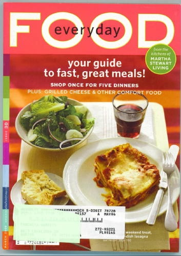 Image for Everyday Food Issue 30, March 2006
