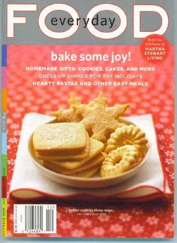 Image for Everyday Food Issue 28, December 2005