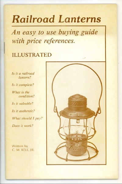 Image for Railroad Lanterns An Easy to Use Buying Guide with Price References