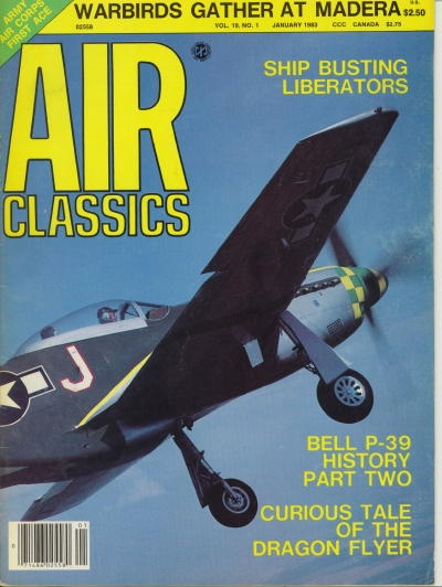 Image for Air Classics Volume 19, No. 1, January 1983, Warbirds Gather At Madera,