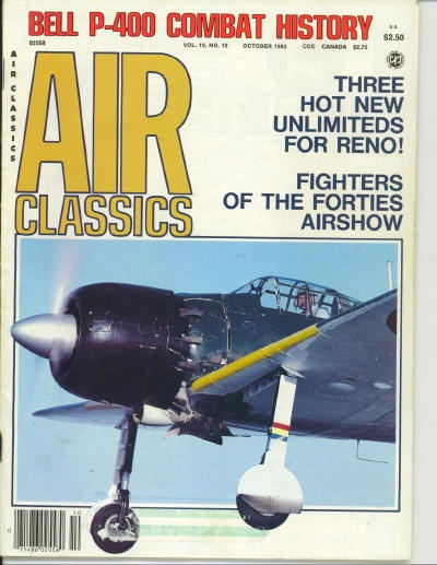 Image for Air Classics Volume 19, No. 10, October 1983, Bell P-400 Combat History