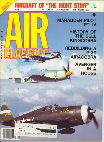 "Image for Air Classics Volume 19, No. 12, December 1983, Aircraft Of ""The Right Stuff"""