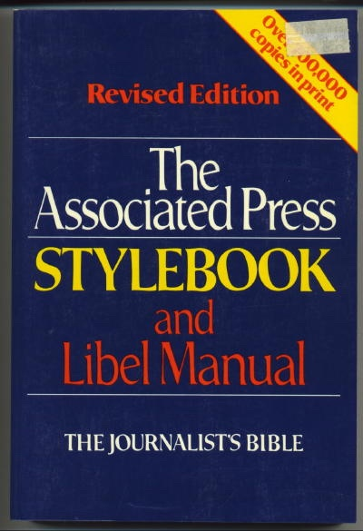 Image for The Associated Press Stylebook And Libel Manual With Appendices on Photo Captions, Filing the Wire