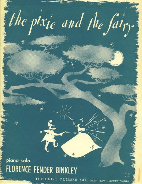 Image for The Pixie And The Fairy, Piano Solo