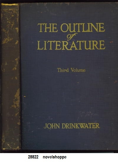 Image for The Outline Of Literature In Three Volumes,