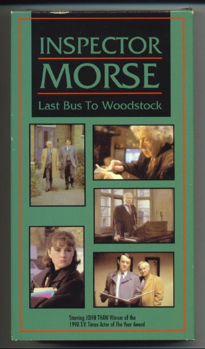 Image for Inspector Morse: Last Bus To Woodstock