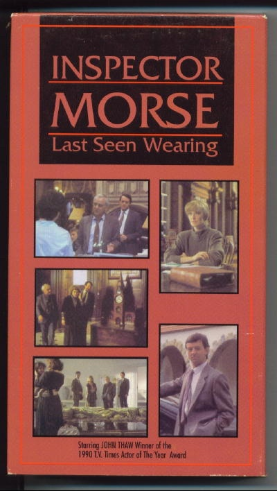 Image for Inspector Morse: Last Seen Wearing