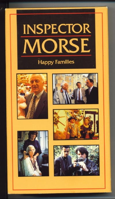 Image for Inspector Morse: Happy Families