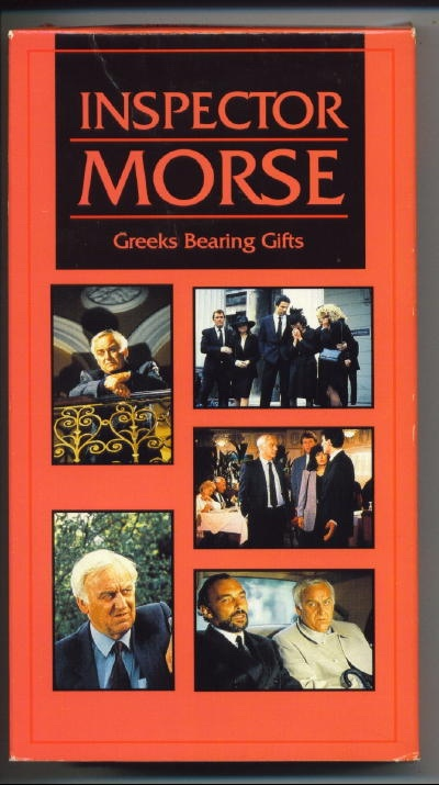 Image for Inspector Morse: Greeks Bearing Gifts