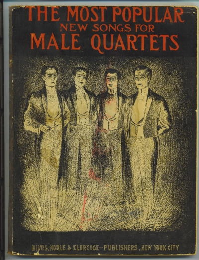 Image for The Most Popular New Songs For Male Quartets