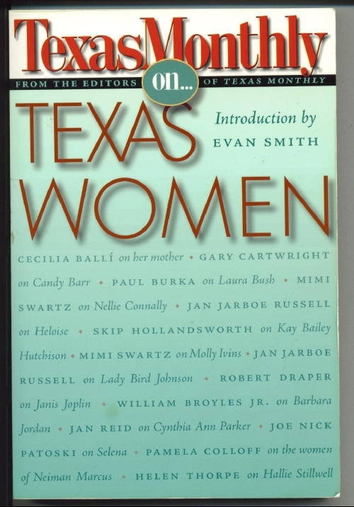 Image for Texas Monthly On . . . Texas Women