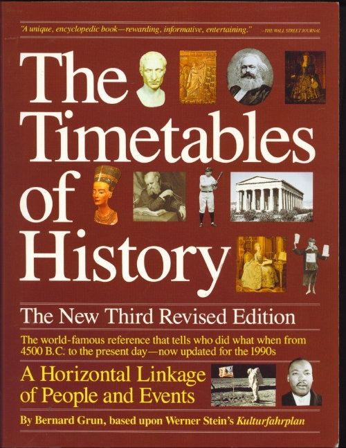 Image for The Timetables of History The New Third Revised Edition