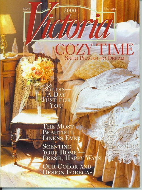 Image for Victoria Magazine January 2000, Cozy Time, Snug Places To Dream