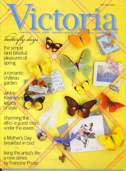 Image for Victoria Magazine May 2001: Butterfly Days