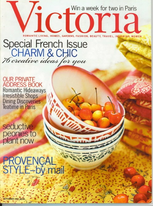Image for Victoria Magazine September 2001: Special French Issue
