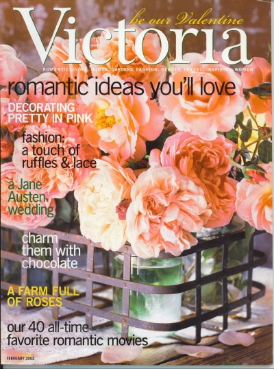 Image for Victoria Magazine, February 2002, Romantic Ideas You'll Love