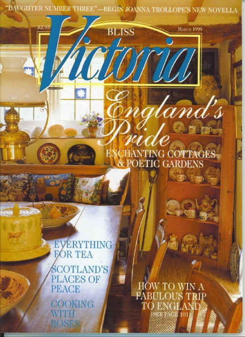 Image for Victoria Magazine March 1999, Enchanting Cottages And Poetic Gardens