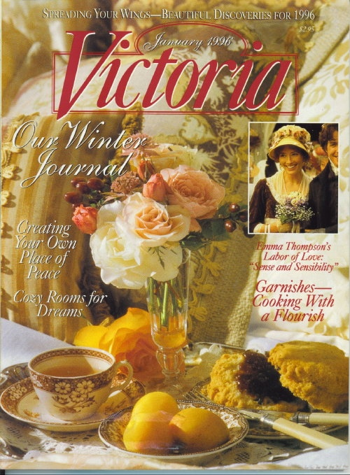 Image for Victoria Magazine January 1996, Our Winter Journal