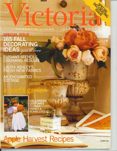 Image for Victoria Magazine October 2002, 165 Fall Decorating Ideas