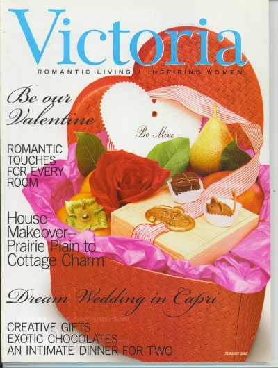 Image for Victoria Magazine February 2003, Be Our Valentine
