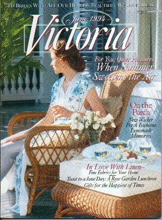 Image for Victoria Magazine , June 1994