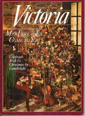 Image for Victoria Magazine, December 1993: In A Season Of Good Cheer May Love & Joy Come To You