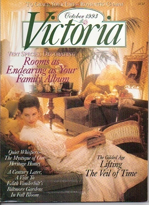 Image for Victoria Magazine October 1993, Rooms As Endearing As Your Family Album