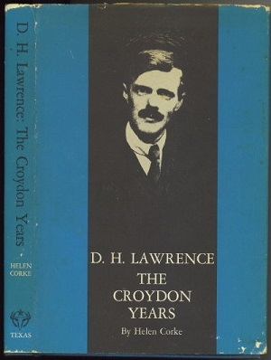 Image for D. H. Lawrence, The Croyden Years
