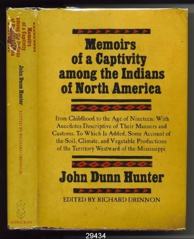 Image for Memoirs of a Captivity Among the Indians of North America