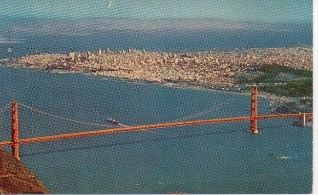 Image for Air View Of Golden Gate Bridge