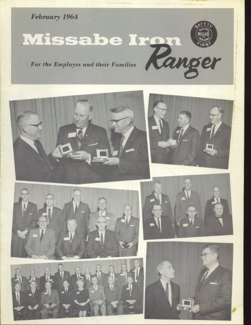 Image for Missabe Iron Ranger, February 1964 For Employees and Their Families