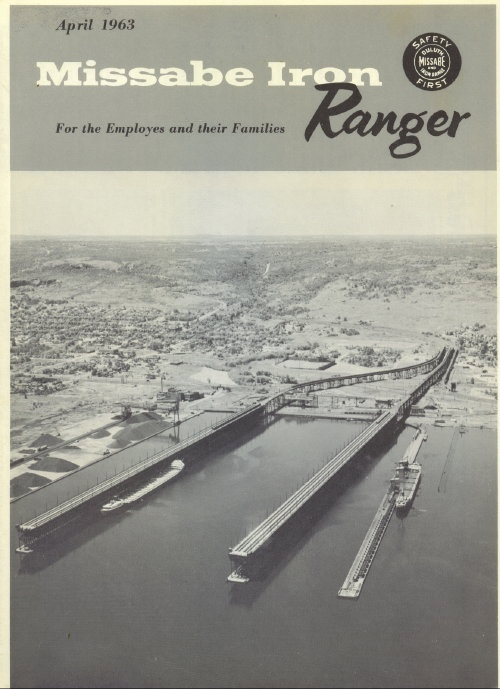 Image for Missabe Iron Ranger, April 1963 For Employees and Their Families