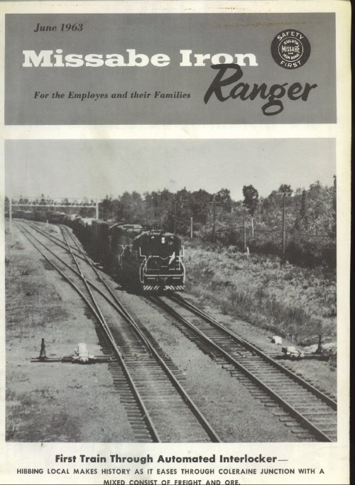 Image for Missabe Iron Ranger, June 1963 For Employees and Their Families