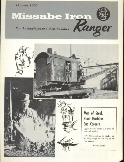 Image for Missabe Iron Ranger, October 1963 For Employees and Their Families