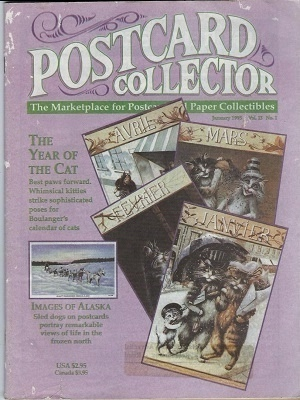 Image for Postcard Collector Magazine, Vol. 13, No. 1, January 1995 The Marketplace for Postcard and Paper Collectibles