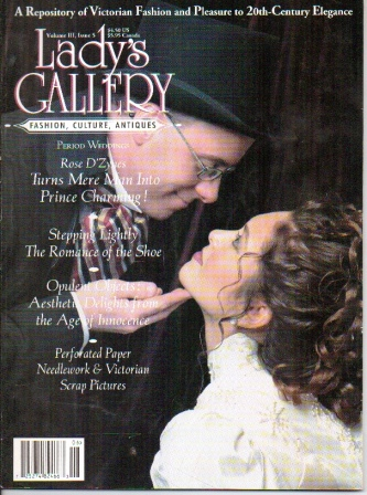 Image for Lady's Gallery Magazine, Volume III, Issue 5, June / July 1996 Fashion, Culture, Antiques