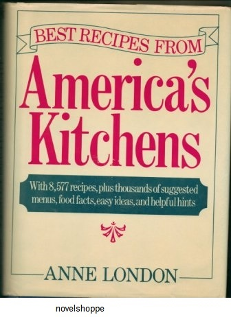 "Image for Best Recipes From America's Kitchen [Originally Published As ""The American-International Encyclopedic Cookbook]"
