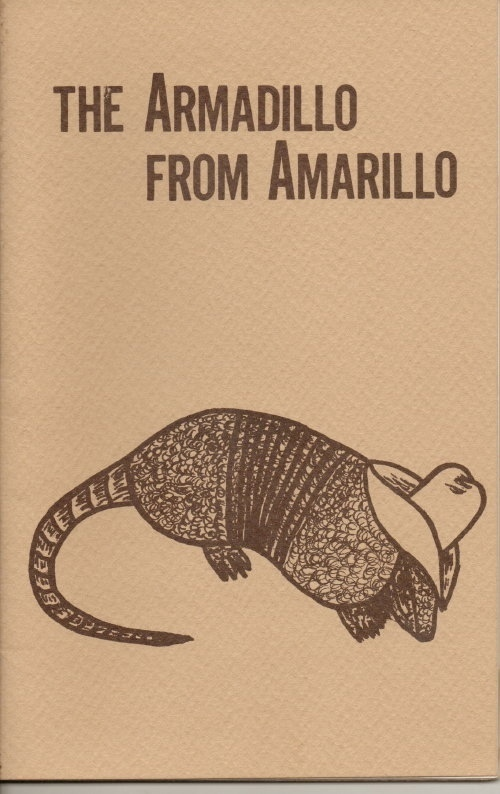 Image for The Armadillo From Amarillo, And Other Charming Critters