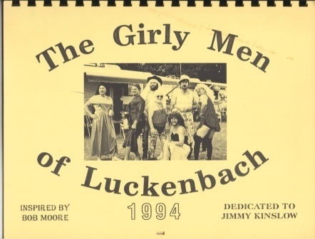 Image for Girly Men (girlymen) Of Luckenbach, Texas, 1994 Calender, Dedicated To Jimmy Kinslow