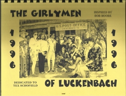Image for Girly Men (girlymen) Of Luckenbach, Texas, 1996 Calender, Dedicated To Tex Schofield