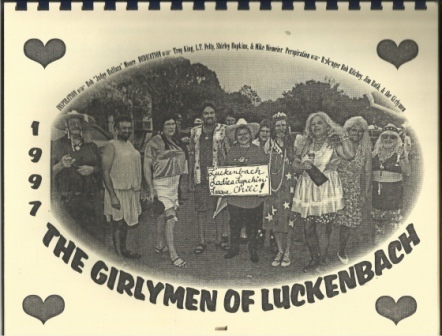Image for Girly Men (girlymen) Of Luckenbach, Texas, 1997 Calender, Dedicated To Tex Schofield