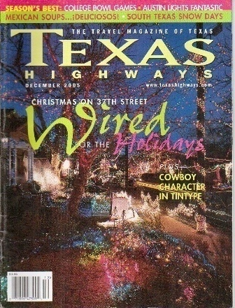 Image for Texas Highways Magazine December 2005 The Official Texas State Travel Magazine