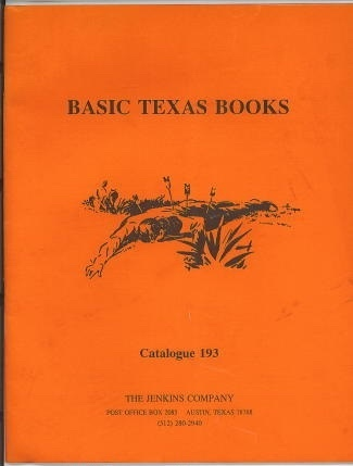 Image for Basic Texas Books, Catalogue 193