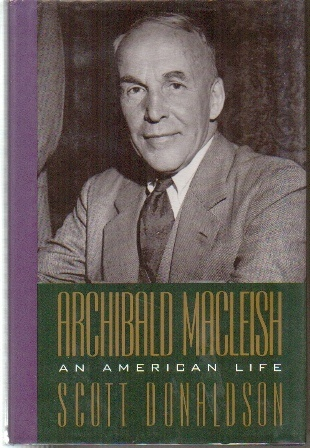 Image for Archibald MacLeish  An American Life