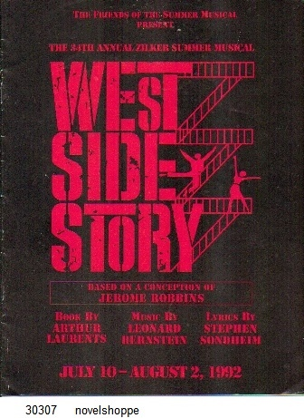 Image for West Side Story The 34th Annual Zilker Summer Musical, July 10-August 2, 1992