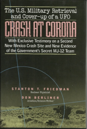 Image for Crash at Corona  US Military Retrieval and Cover-up of a UFO