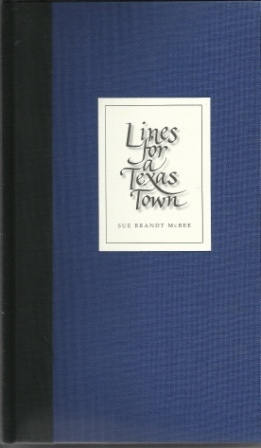 Image for Lines for a Texas Town