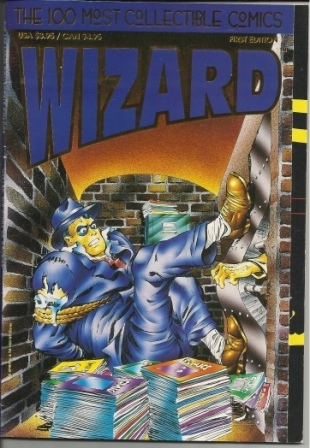Image for Wizard The 100 Most Collectible Comics First Edition